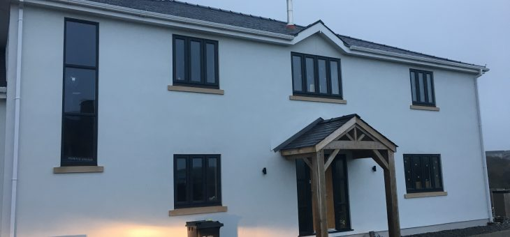 New Build Construction, Penrhyn, Cemaes Bay