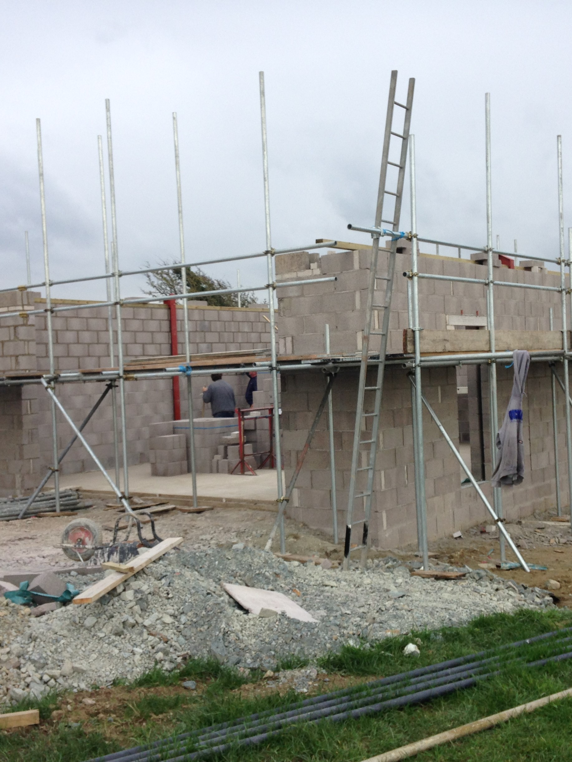 New garage build construction pritchard construction for Garage building contractors